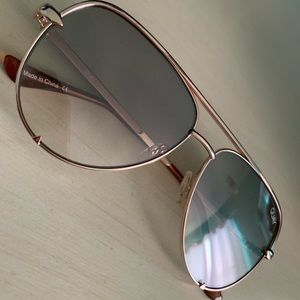 QUAYXDESI High key mini sunglasses